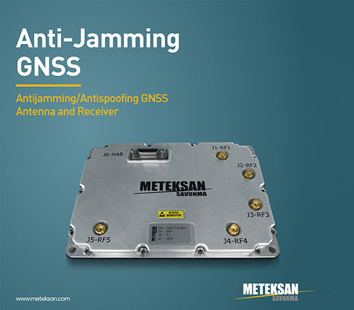 Meteksan Defence Launches 'Anti-Jamming GNSS'