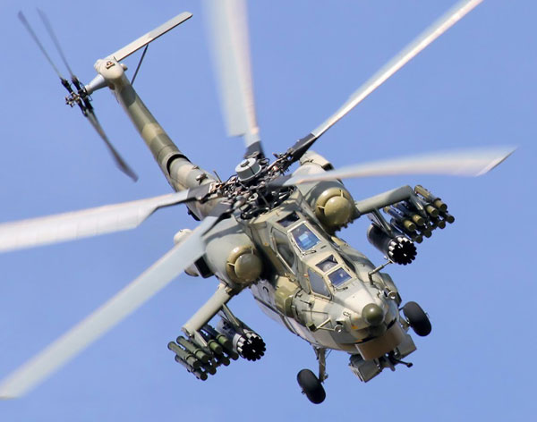 Mi-28 Attack Helicopter to Get Laser Missile Defense Gear