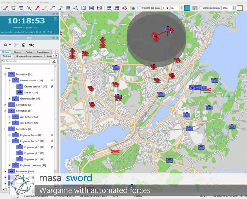 NATO Center of Excellence Acquires MASA SWORD for Training