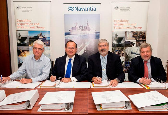 NAVANTIA to Supply Two AORs Ship to Australia