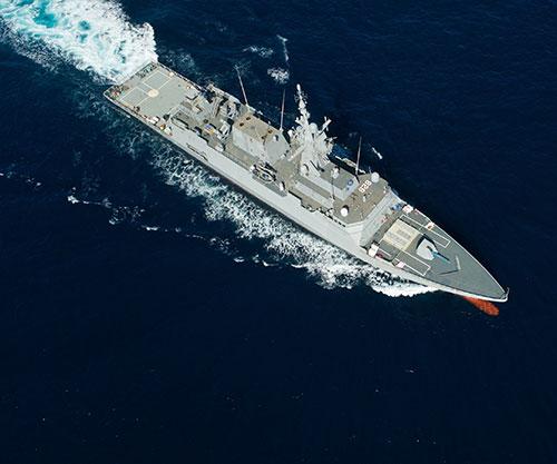 Navantia Starts Sea Trials for Saudi Royal Navy's NB 546 AL-JUBAIL