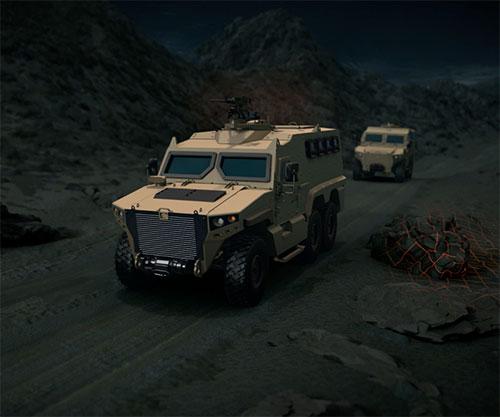 NIMR Launches Next Generation AJBAN, HAFEET Mark 2 Armoured Vehicles