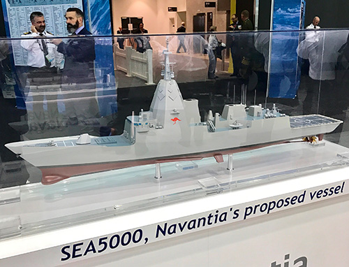 Navantia-Saab Team Submits CSC Proposal to Irving Shipbuilding