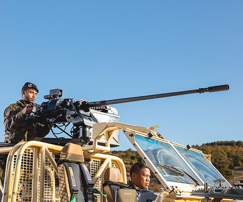 Nexter's P20 Achieves First Success in Germany