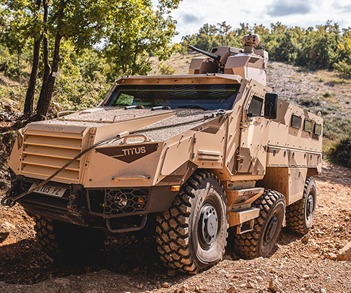 Nexter Exhibits its Range of Products & Services at IDEX 2021