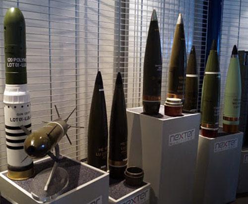 Nexter Group Showcases its Ammunition at DEFEXPO 2020