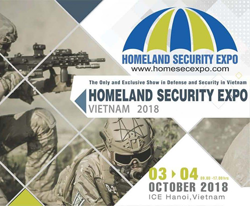 Nexter Participates at 3rd Homeland Security Expo in Hanoi