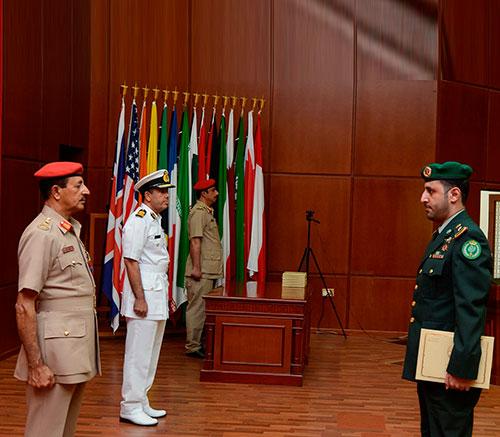Oman's Command & Staff College Holds Graduation Ceremony