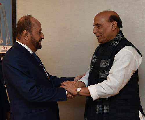 Oman's Defense Minister Meets Indian, South Korean Counterparts at DefExpo
