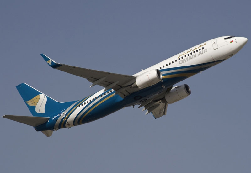 Oman Air Places Order for 20 Boeing 737 Max Aircraft
