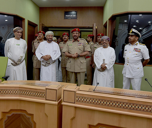 Omani Minister for Defense Affairs Visits National Defense College