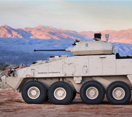 Orbital ATK Demos MK44 Chain Gun in Two Configurations