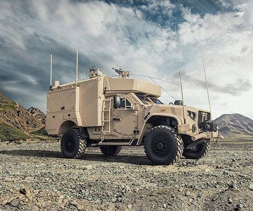 Oshkosh Defense Exhibits L-ATV Command, Control Capabilities at AUSA 2019