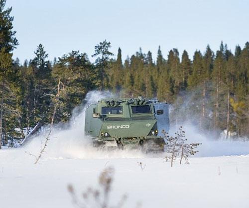 Oshkosh to Co-Produce U.S. Army's Cold Weather All-Terrain Vehicle Prototype