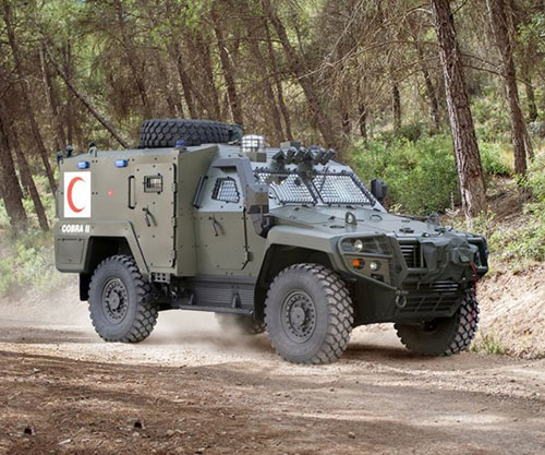 Otokar Displayed COBRA II, URAL and ARMA 6x6 at BIDEC 2019