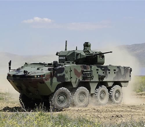 Otokar Presented ARMA 8x8 in Bulgaria