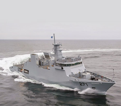 Pakistan Navy Inducts First Yarmook-Class Corvette