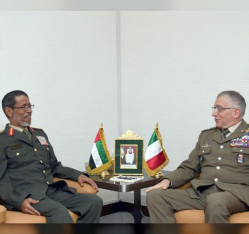 Italy's Chief of Defense Staff Visits UAE