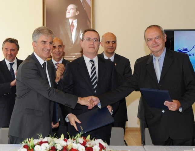 Eurosam, Aselsan, Roketsan to Cooperate in Air & Missile Defense