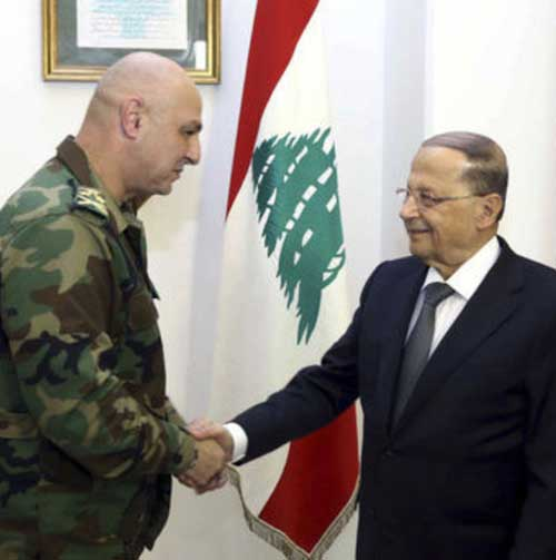 Lebanon Names New Army Commander-in-Chief