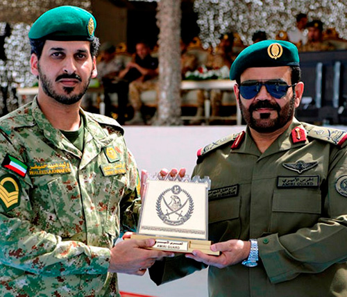 Qatar Emiri Guard School Celebrates New Graduation