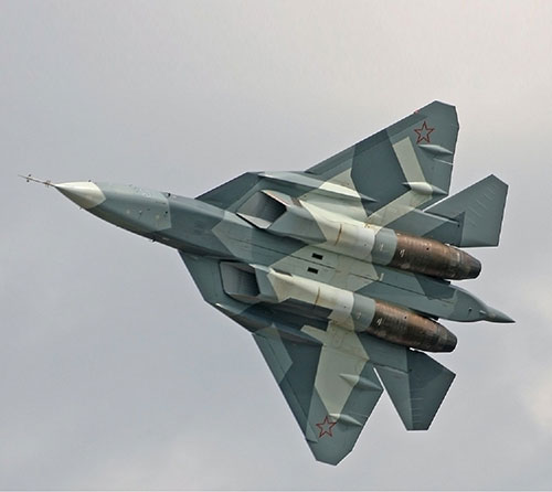 """Putin: """"Russian Air Force to Acquire 76 Su-57 Jets by 2028"""""""