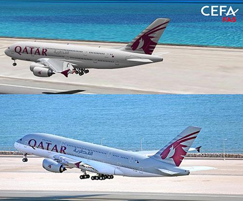 Qatar Airways Becomes New Client of CEFA Aviation