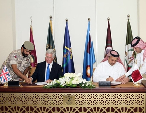 Qatar Settles First Eurofighter Typhoon Dues to BAE Systems