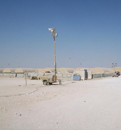 Qatar's Emir Visits Largest US Military Base