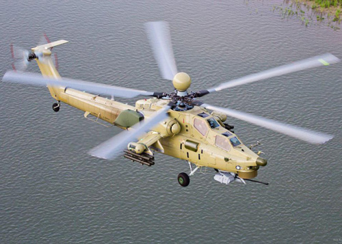 Russian Defense Ministry to Get First Mi-28UB Helicopters