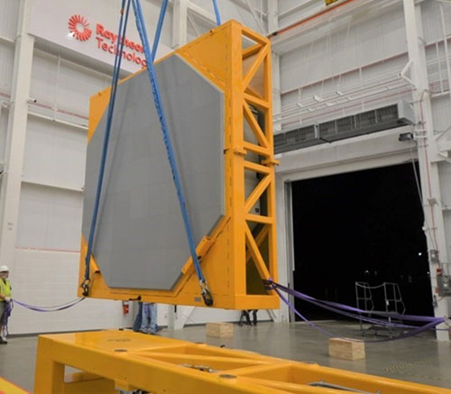 Raytheon Delivers First SPY-6 Radar Array to U.S. Navy's Newest Destroyer