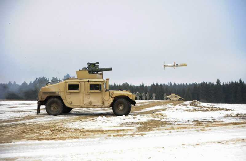 Raytheon Unveils Next-Gen TOW EagleFire Launcher