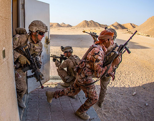 Royal Army of Oman, US Forces Conduct Joint Exercise
