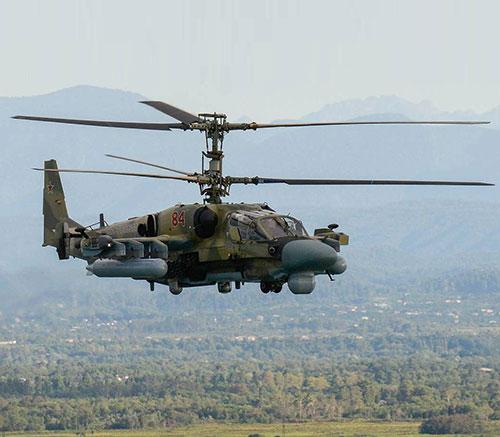 Russia's Upgraded Kamov Ka-52M Makes Debut Flight