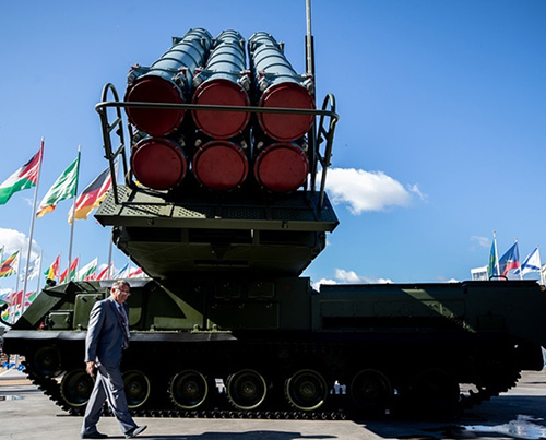 Russia's Viking Air Defense Missile System at Airshow China
