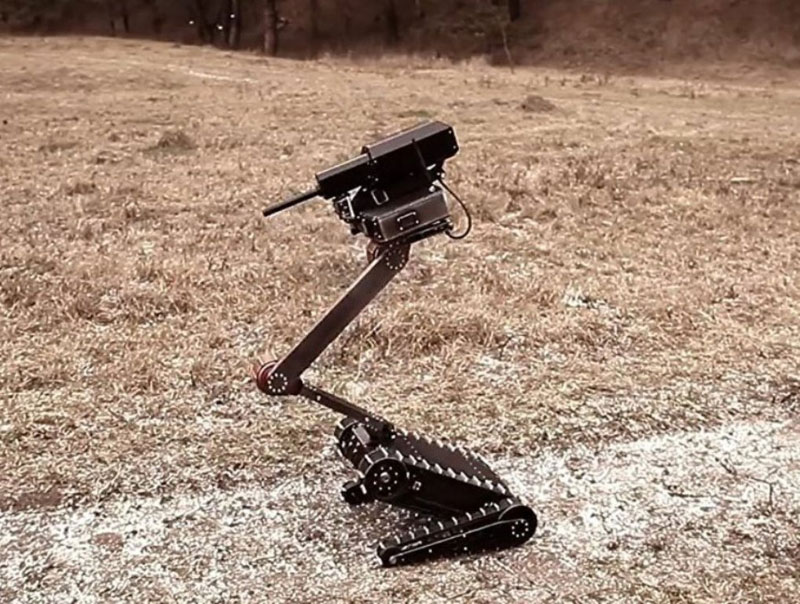 Russia Develops Advanced Light Tactical Robot
