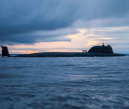 Russia Floats Out First Yasen-M-Class Nuclear Submarine