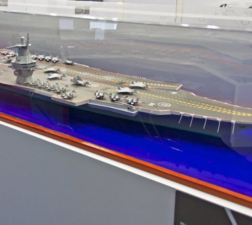 Russia Confirms Plans to Build New Aircraft Carrier