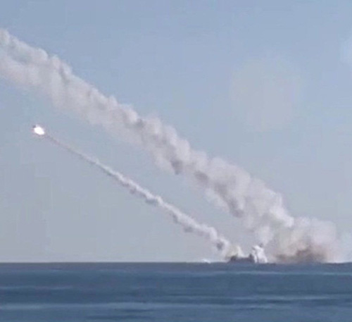 Russia's Nuclear Submarine Test-Launches Cruise Missile