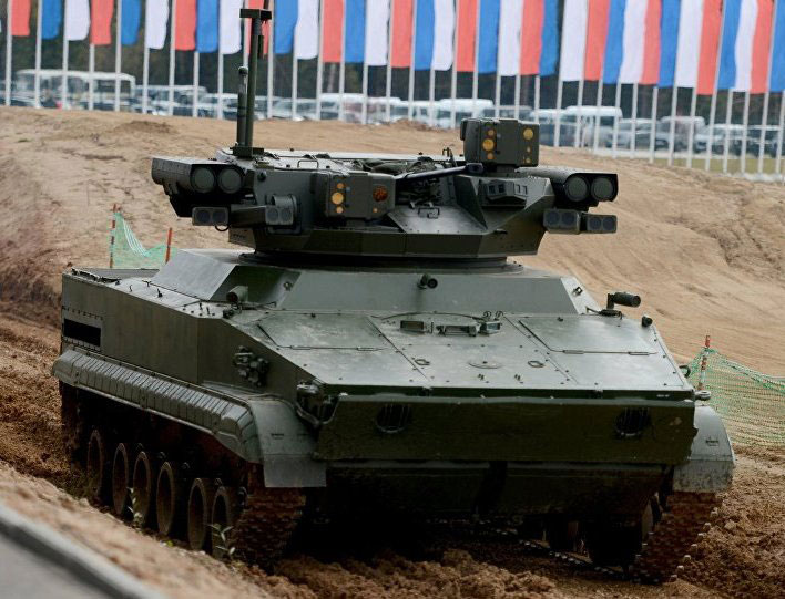 Russian Army to Receive Next Generation Robots by 2025