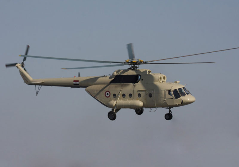 Russian Helicopters to Offer After Sales Services in Egypt