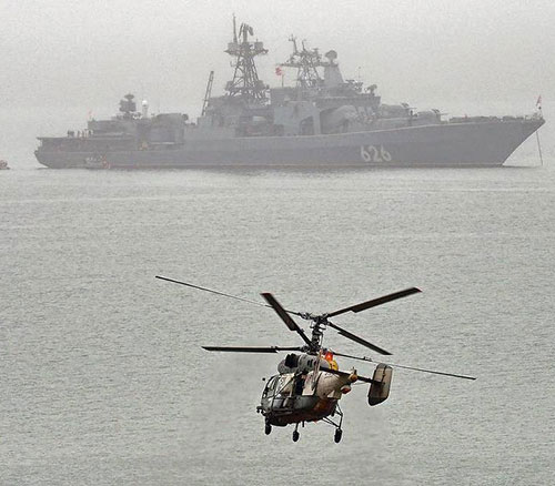 Russian Navy's Warship Concludes 3-Day Visit to Algeria