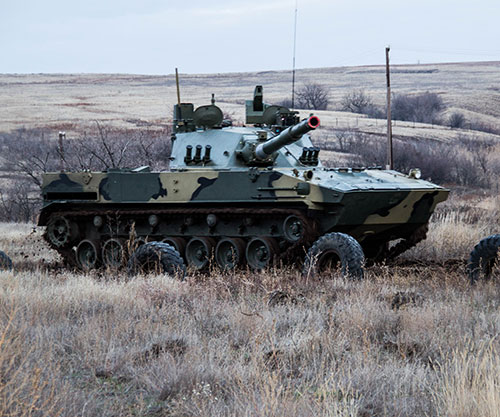 Russian Octopus Light Amphibious Tank Conquers Two Elements