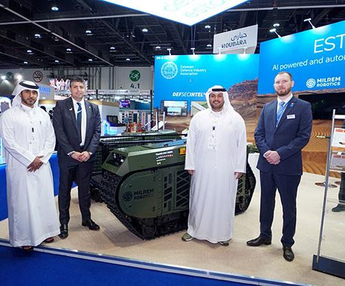 SABER, Milrem Robotics to Develop Unmanned Ground Systems for UAE