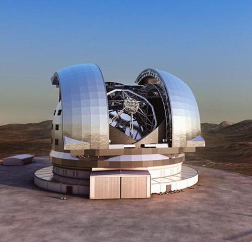 Safran Reosc to Polish Primary Mirror on Europe's ELT Telescope