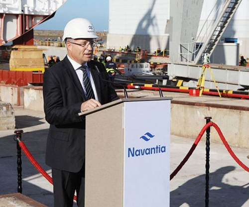 SAMI-Navantia Starts Construction of First RSNF Corvette in Cadiz