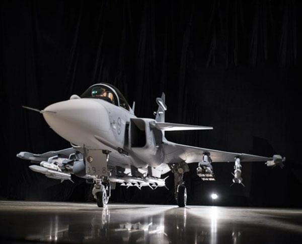 Saab Unveils Gripen E Next Generation Fighter