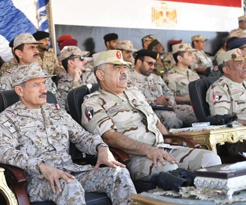 Saudi, Egyptian Forces Conclude Tabuk 4 Exercise