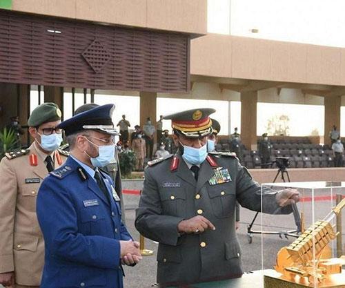 Saudi Chief of General Staff Patronizes Graduation Ceremony at King Abdullah Air Defense College
