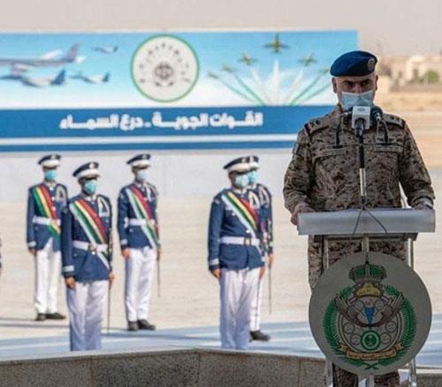 Saudi Chief of General Staff Patronizes Graduation at King Faisal Air Academy